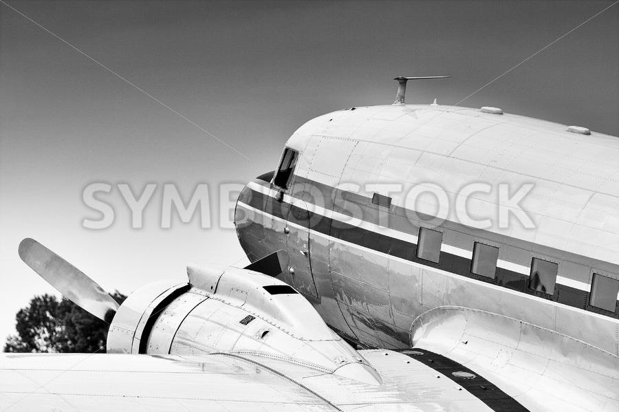Douglas DC-3 - Jan Brons Stock Images