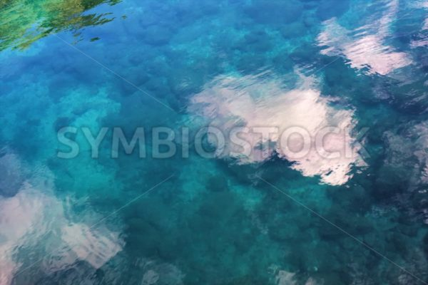 Tropic Water Reflections - Jan Brons Stock Images