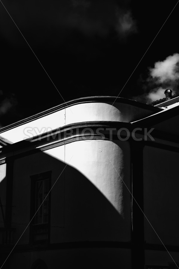 Architecture Shadow Light Game - Jan Brons Stock Images