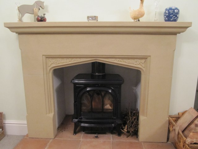 Stone Fire Surrounds For Wood Burning Stoves Round Ideas