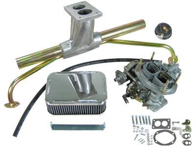 VW WEBER Progressive 32/36 Single Carburetor Kit, 2 Barrel VW Parts