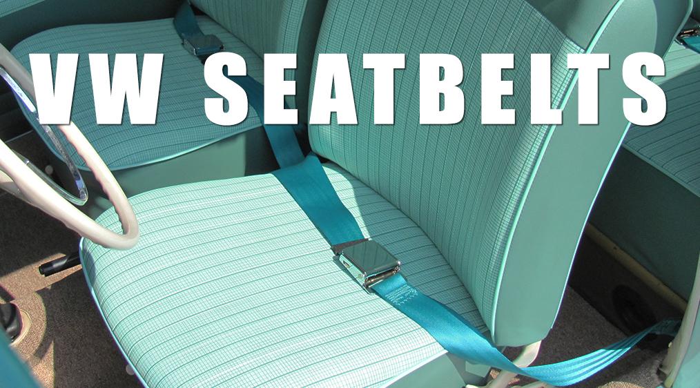 VW Seat Belts - VW Bug Seat Belts - VW Beetle Seat Belts