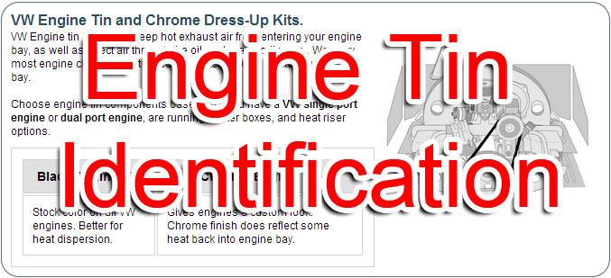 VW Engine Tin  Chrome VW Parts JBugs