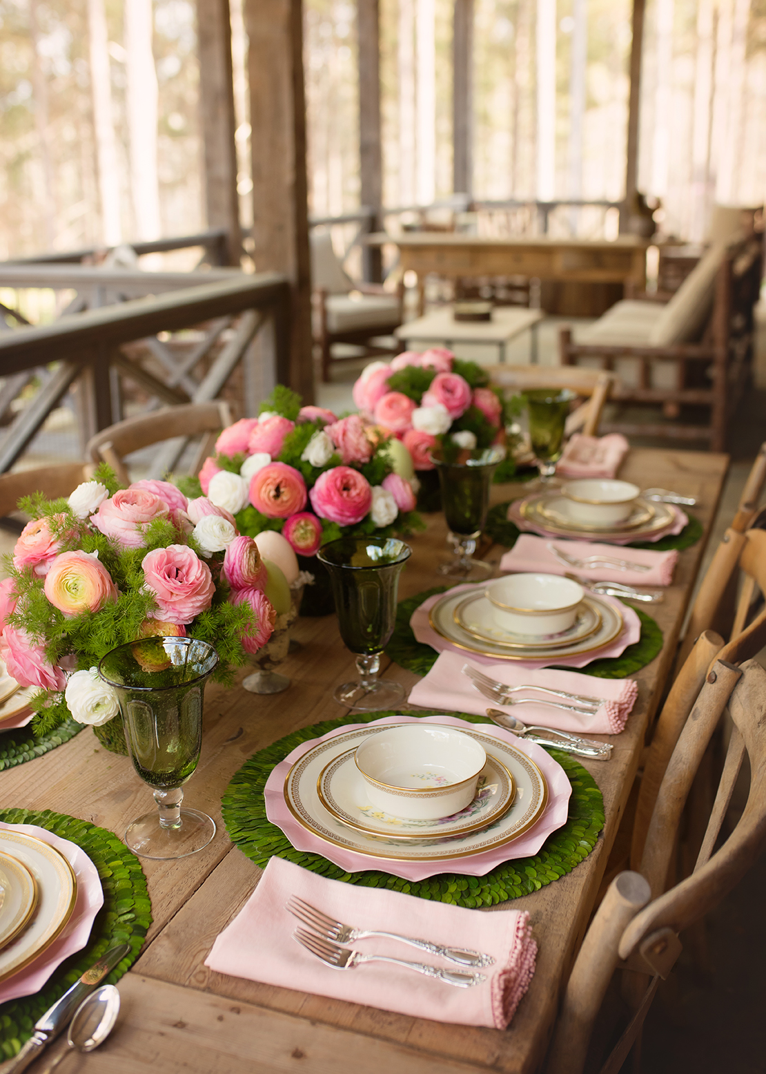 Easter Tablescape at the Farm | J Cathell