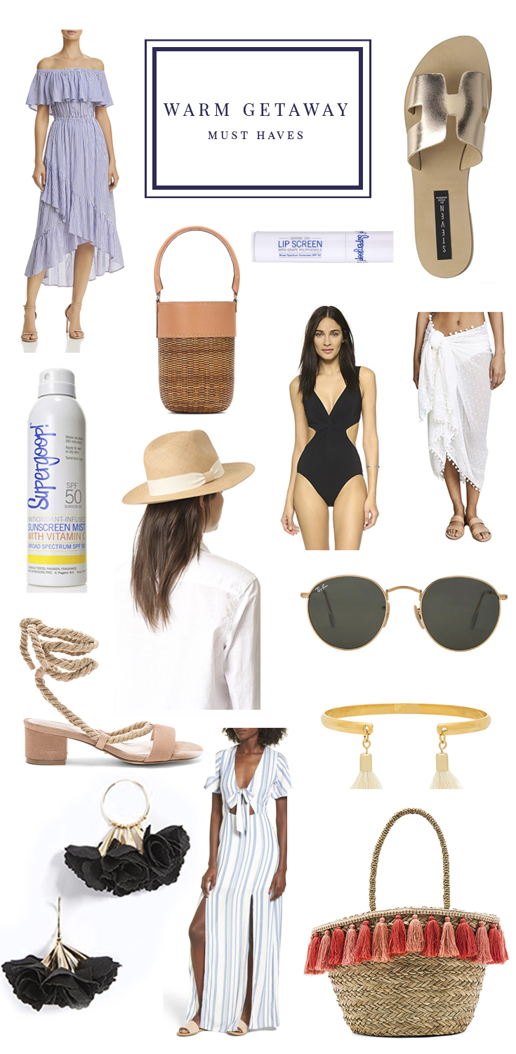 cute beach clothes and accessories