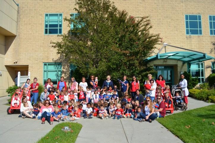 Patriots Day 2017 - Full School Photo