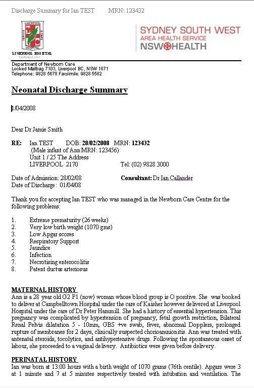 hospital discharge certificate - Maggilocustdesign