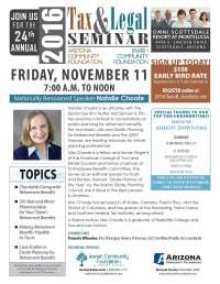 Tax & Legal Seminar   Jewish Community Foundation of ...