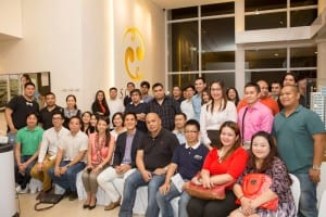 JCI Alabang Members and Guests with Toby Claudio