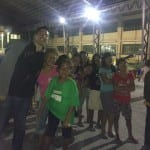 VP for Community Development Lester with the Sucat Evacuees