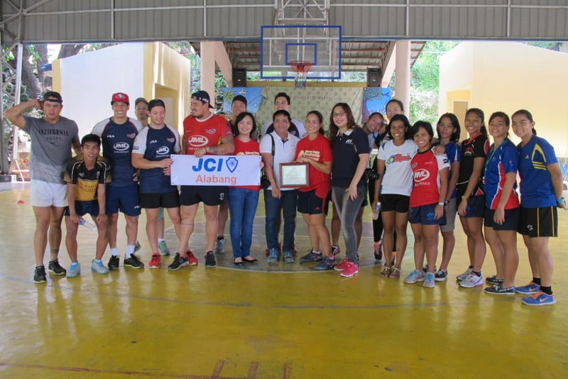 PFRU, Philippine Volcanoes, Lady Volcanoes, and JCI Alabang partnered to bring rugby football to Haven for Children