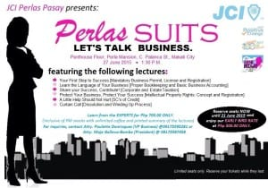 Perlas Pasay Suits - Let's Talk Business