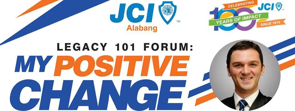 Legacy 101 Forum: My Positive Change with JCI World President Ismail Haznedar