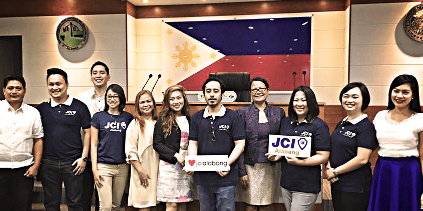 JCI Alabang visits the Muntinlupa City Council Jul 2016
