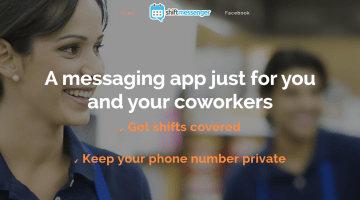 shift messenger app