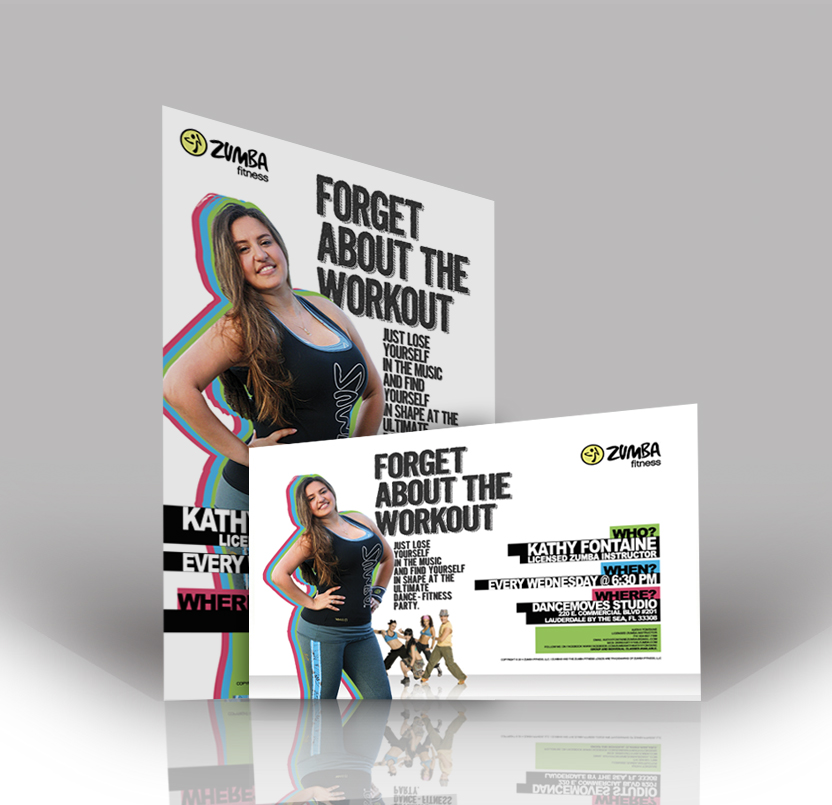 Forget About the Workout\u0027 Flyer and Poster - jcreationsdesign