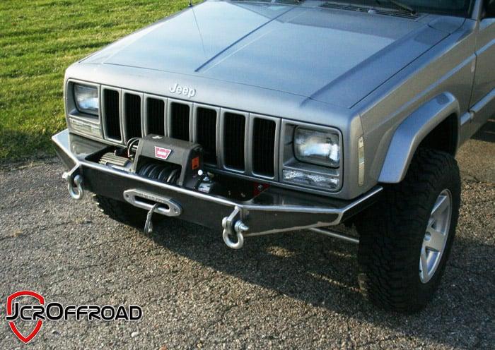 DIY XJ Winch Bumper Jeep Cherokee (84-01) - JcrOffroad