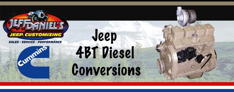 JD Jeeps - Diesel Conversions - home
