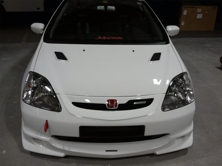 Mugen Style Front Lip Honda Civic Ep 01 03 Jdmaster