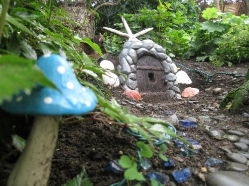 Fairy house in Kennebunkport.
