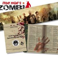 L'écran du MJ pour Friday Night's Zombi arrive