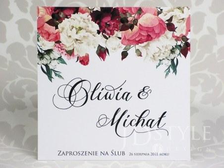 Zaproszenia ślubne ręcznie robione, eleganckie i nowoczesne - JDSTYLE