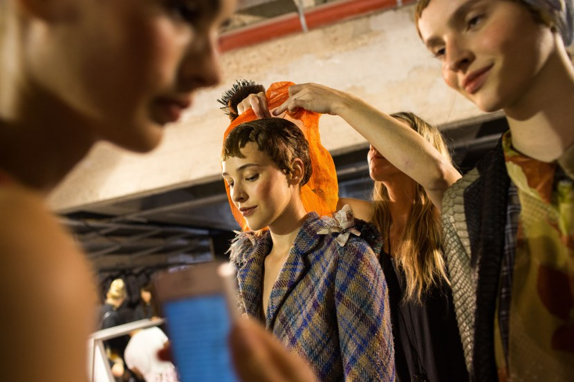 Backstage Wunderkind a la Cite de la Mode et du Design