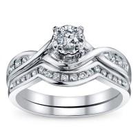 Bridal Sets: Diamond Bridal Sets White Gold