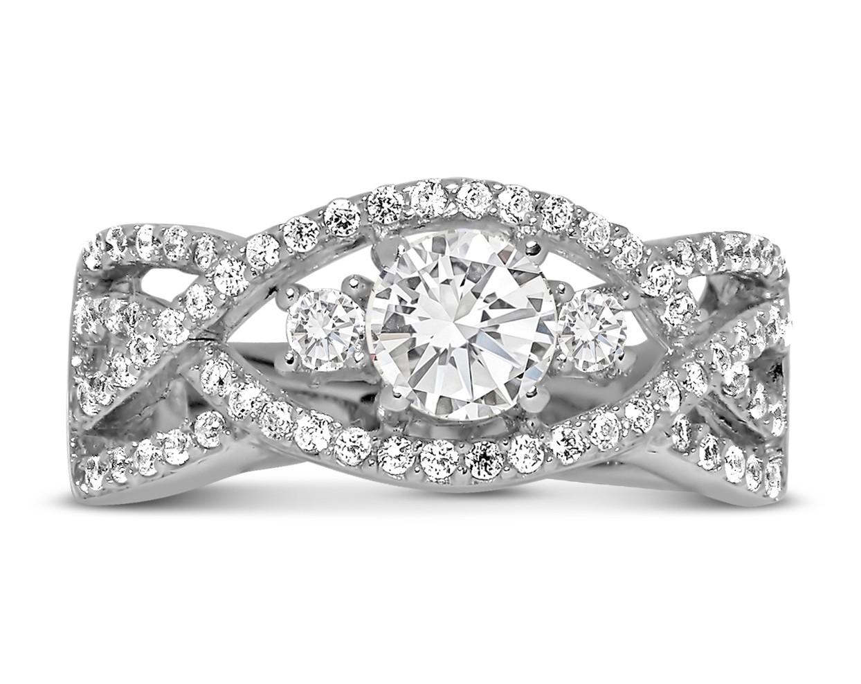 top best wedding bands rings mens women diamond sets titanium gold cheap black white rose wedding ring for women 18k Yellow Gold Semi Eternity Wedding Band