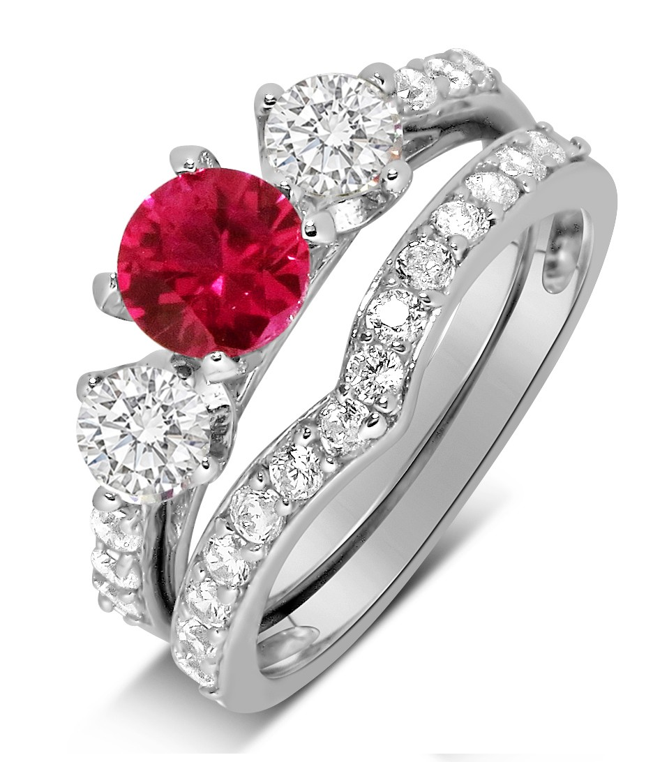 ruby wedding ring sets 2017 idea kim kardashian download - Ruby Wedding Ring Sets
