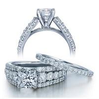 2 Carat Princess cut GIA Certified Diamond Designer ...