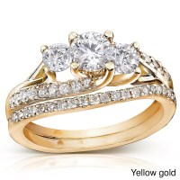 Inexpensive wedding rings: Cheap gold wedding ring sets