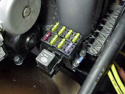 Installing a Painless Wiring All-Weather 7 Circuit Fuse Block