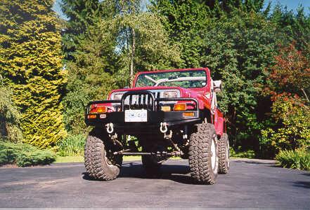 Jeep Wrangler YJ Axle Swapping jeepfan