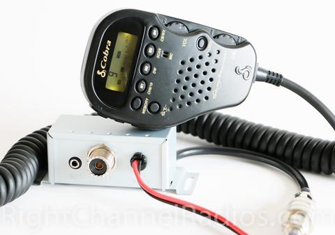 Cobra 75 WX All-in-Handset CB Radio in a Jeep Wrangler jeepfan