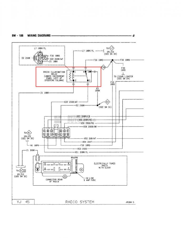 led wiring help with overhead