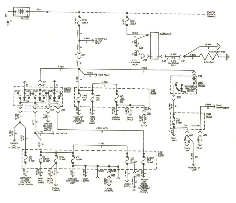 1981 Jeep Cj7 2 5 Wiring Diagram Wiring Diagram
