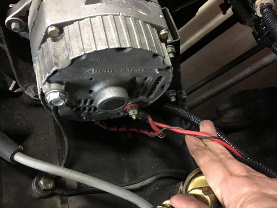 Fuselink to alternator - JeepForum