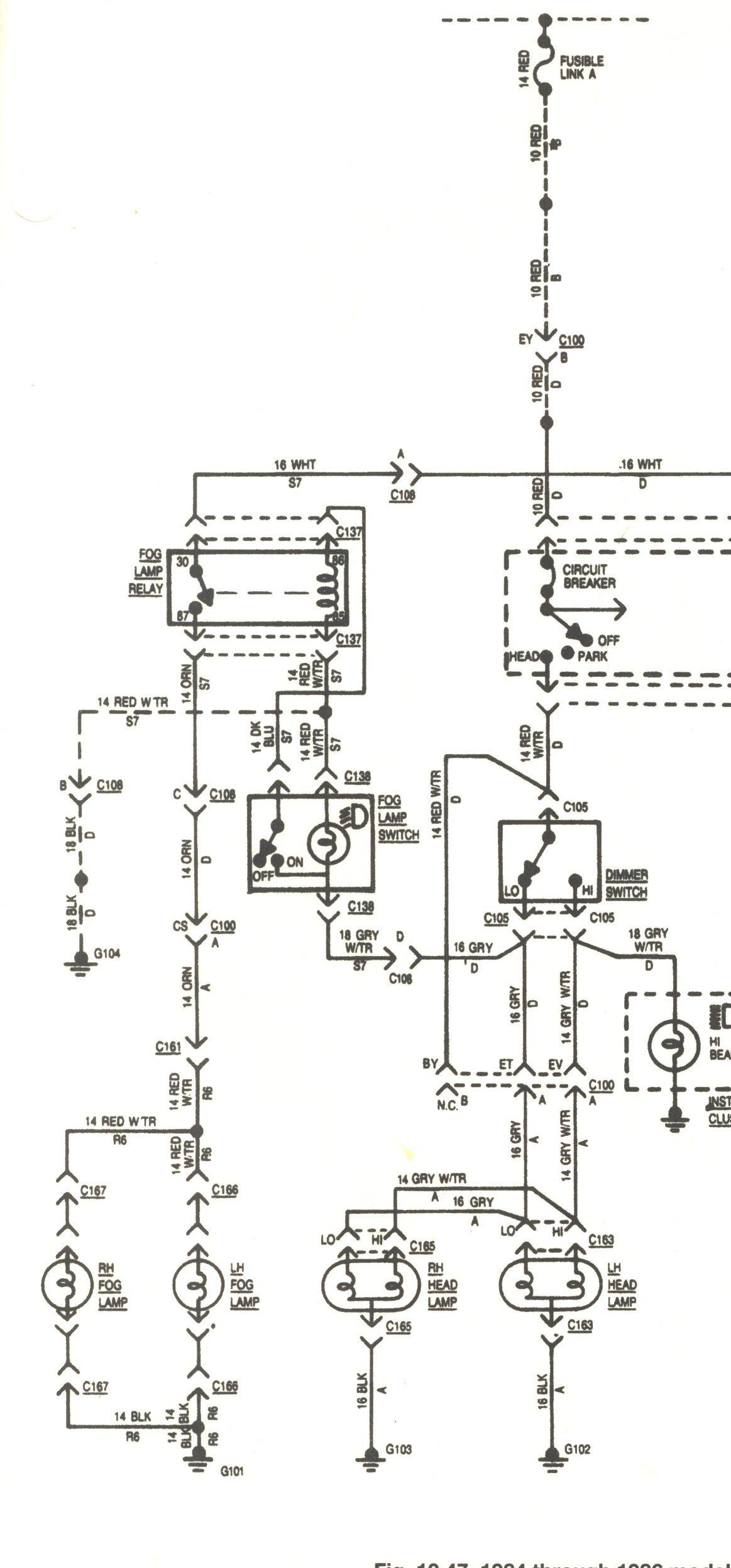 fog light relay wiring diagram on basic tail light wiring diagram