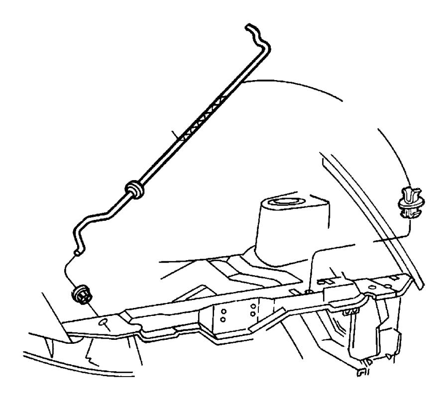 2006 jeep wrangler hood lock