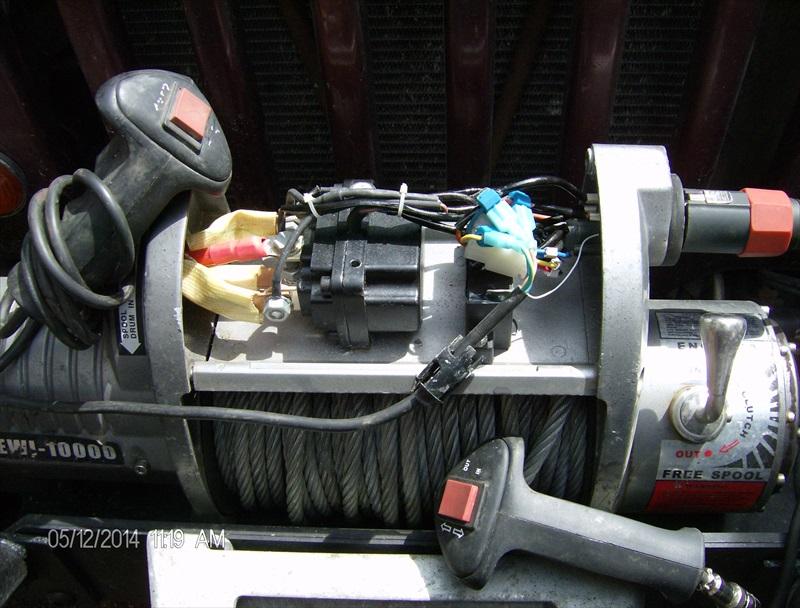t max 4500 winch wiring diagram