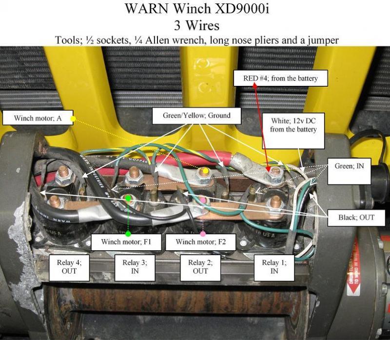 Warn Winch Wiring Diagram Xd9000i - Wiring Solutions