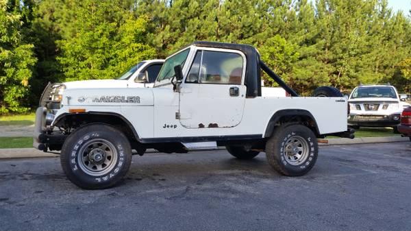 1983 Jeep Scrambler CJ8 V6 Manual For Sale Greenville, SC - Craigslist
