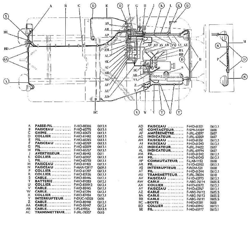 proto schema cablage electrique