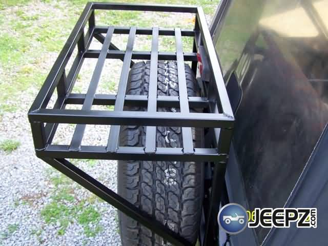 Homemade Rock Rack