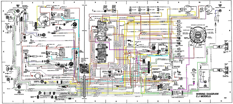 Jeep Cj Wiring Diagram Schematic Diagram Electronic Schematic Diagram