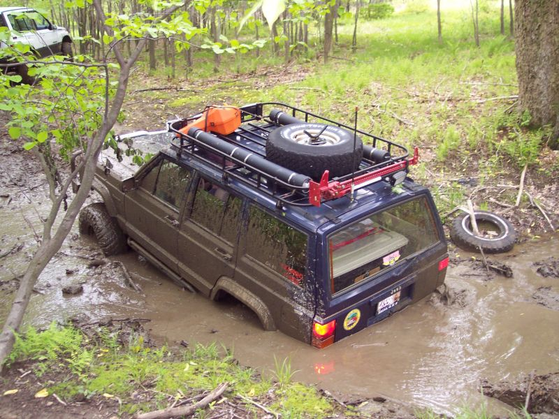 Xj Roof Rack With Extras