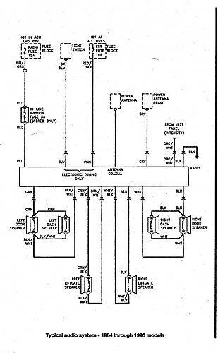 89 jeep cherokee radio diagram