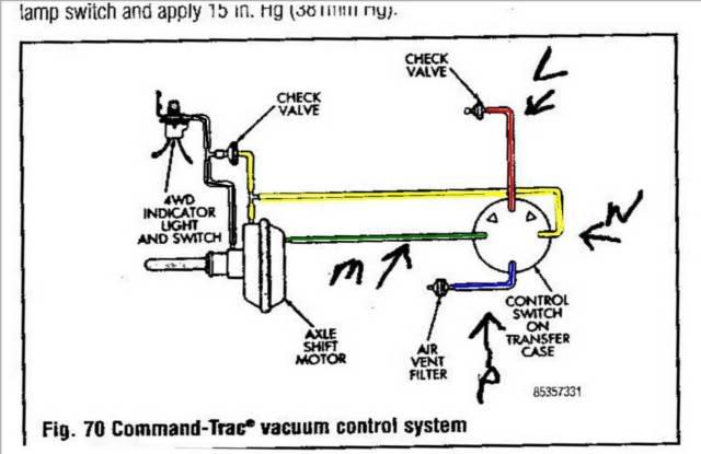 Yj Vacuum Line Diagram Wiring Diagram