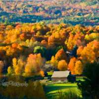Fall foliage route, New York to Vermont